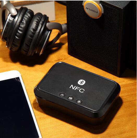 NFC Bluetooth Music Receiver Adapter Wireless Audio Speakers