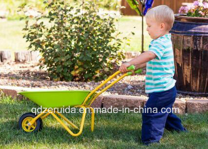 Manufacturer Supply Children′s Wheel Barrow (WB0100)