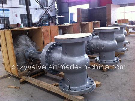 Electric Motor Control Py16 Dn700 GOST Carbon Steel Gate Valve (Z941Y-DN700-PY16)