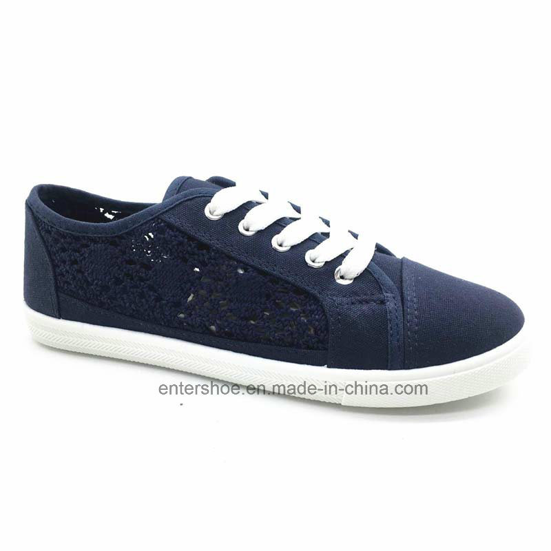 Cheap Injection Canvas Casual Shoes for Women (ET-AL160244W)