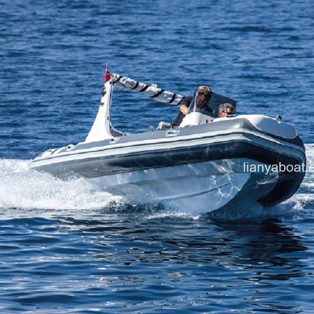 China Rib Boats 5.2m 5.8m 6.2m PVC or Hypalon Rib Boat