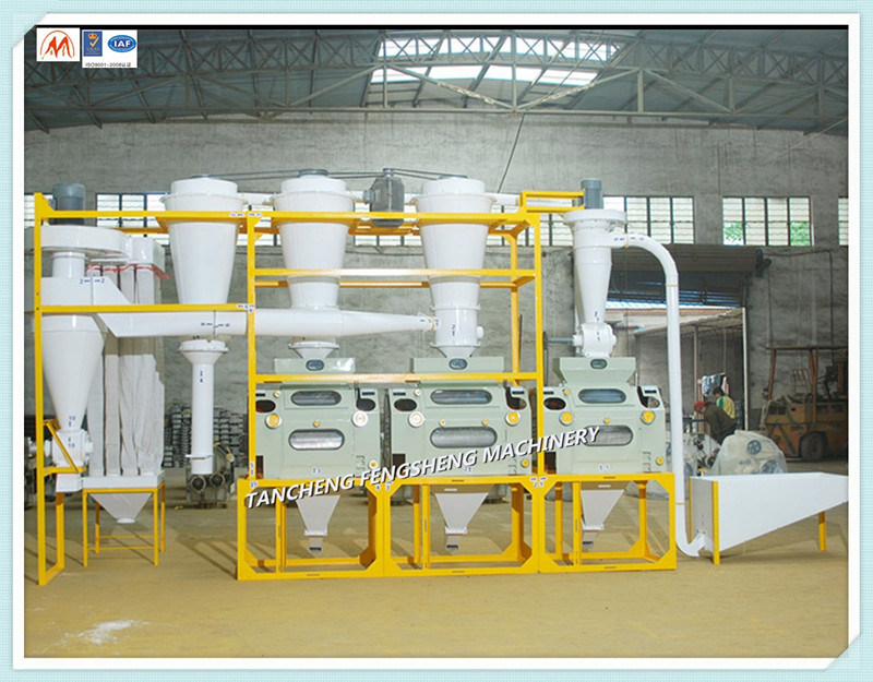 Wheat, Corn etc Flour Mill Plant Machines