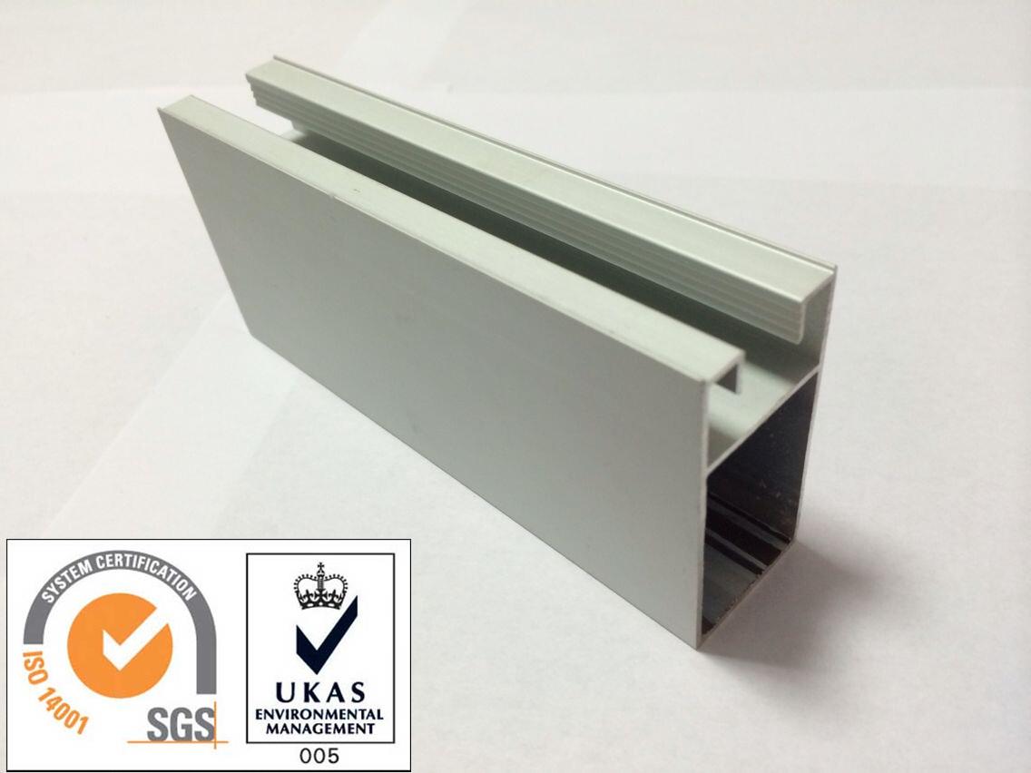 Sliver Anodized Aluminum Profile