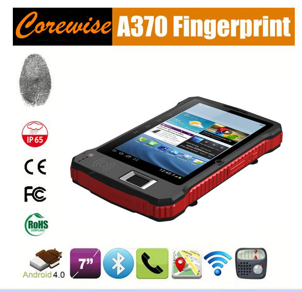 Tablet Pad with RFID Smart Card Reader, Fingerprint Reader, Barcode Scanner Module