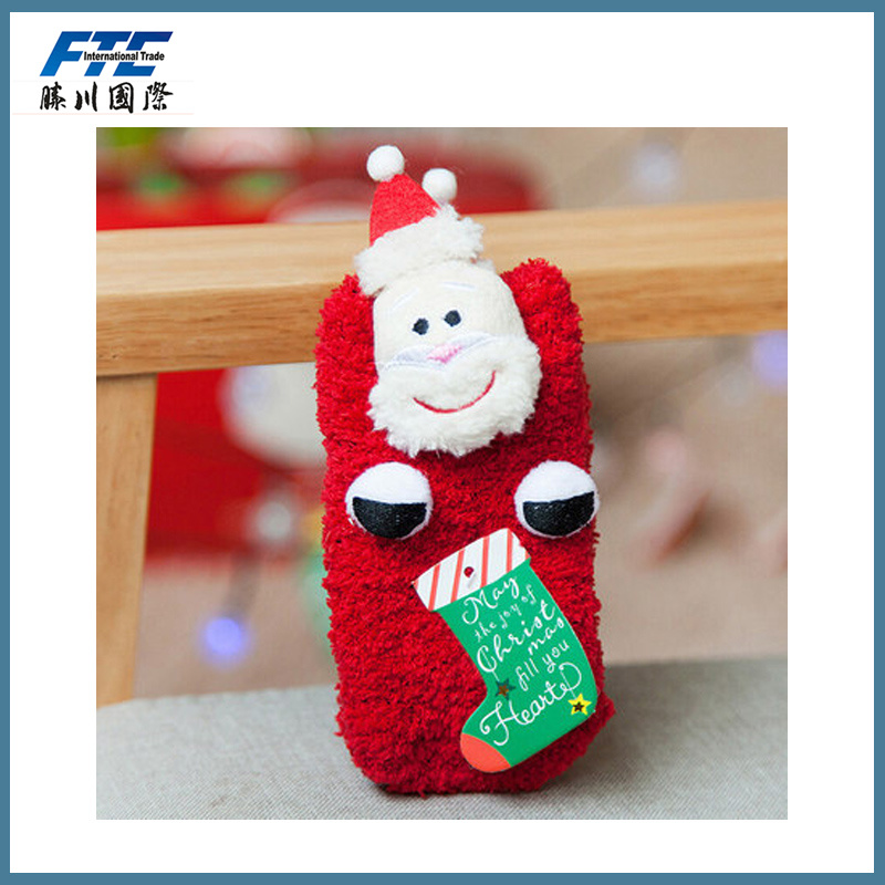 Fleece Christmas Socks/Stocking for Children