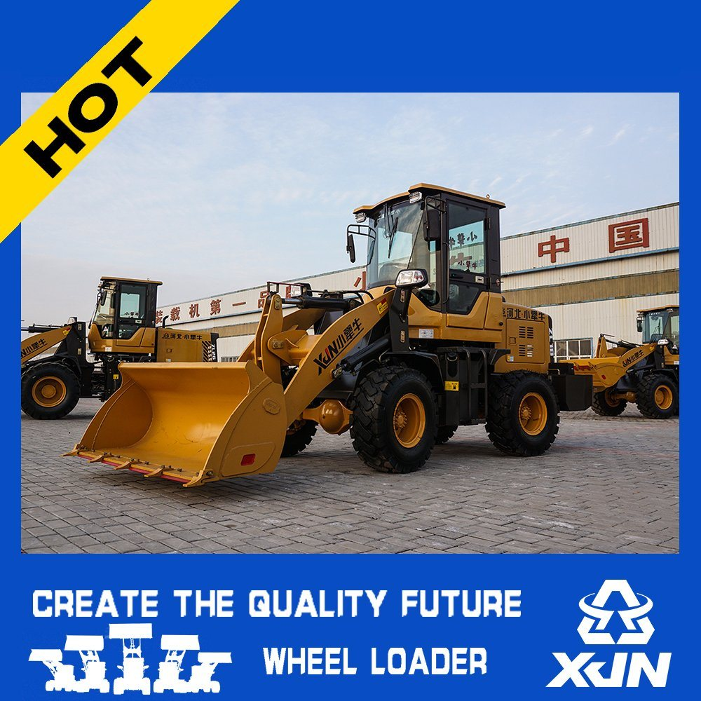Agricultral Farm Articulated Mini Wheel Loader with Ce/Euro 3 and Hydrostatic System