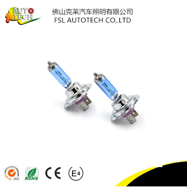 12V 55W Car Accessories H7 Halogen Bulb Lamp for Auto