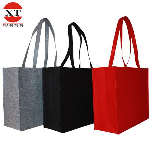 Soft Felt Velvet Tote Bag (FLY-RB60005)