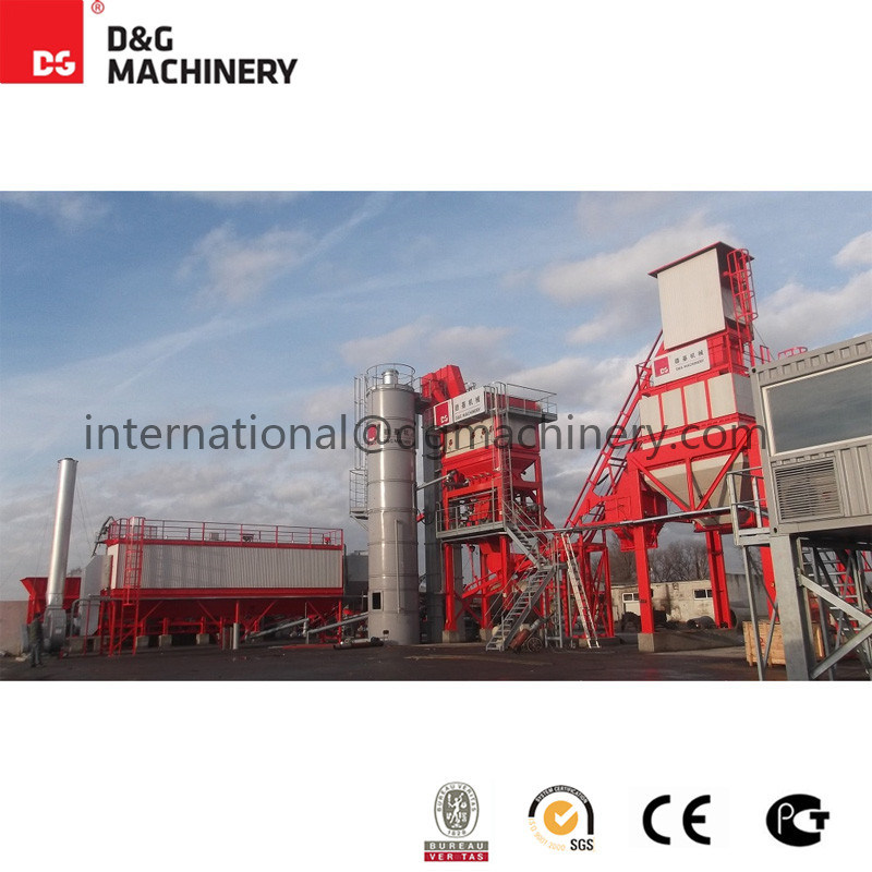 100-123 T/H Hot Mixed Plant / Asphalt Plant for Sale