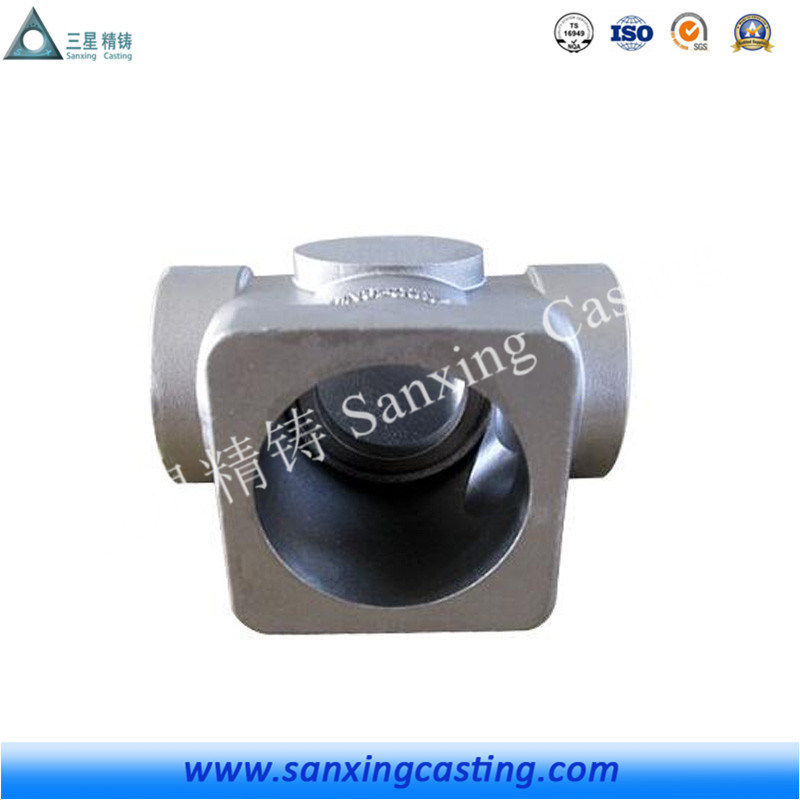 High Precision Machining Aluminum Lost Wax Casting Part for Auto