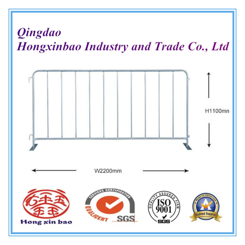 Galvanized Traffic Control Barriers Safety Barricades