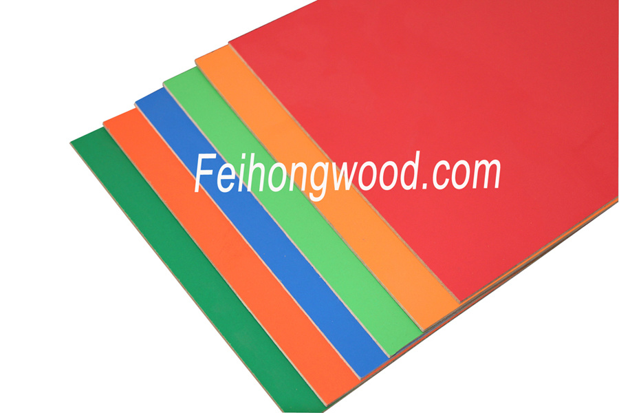 Chinese Melamine Faced MDF (medium density fiberboard) for Furniture