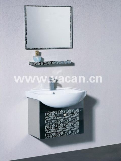 China mordern fashion waterproof stainless steel bathroom for Waterproof bathroom cabinets