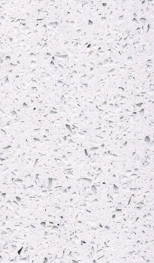 Polished Quartz Artificial Stone for Tops