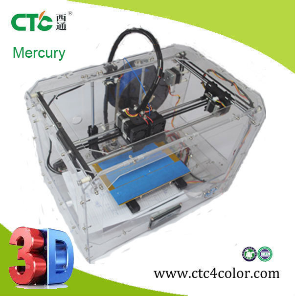CE EMC Certified Desktop 3D Printer with ABS PLA Filament