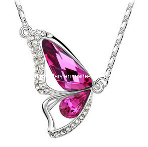 Glory Austrian Diamond Pendant Necklace (XJW12539)