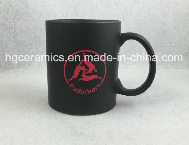 Sandblast with Color Change Coating Mug
