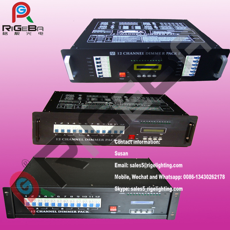 12CH Digital Dimmer DMX512 Controller Stage Light Dimmer