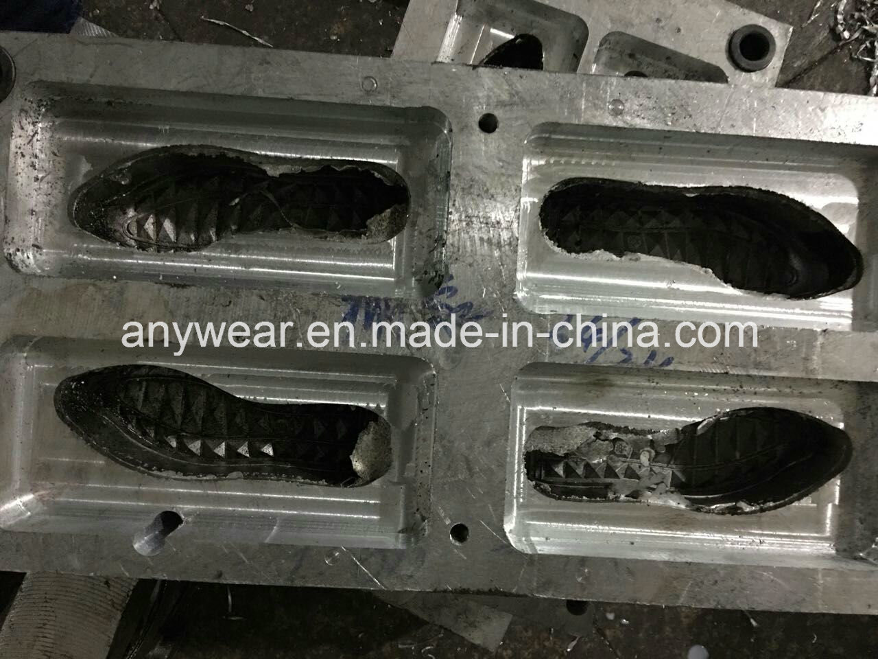 Outsole Moulds EVA Rubber Shoes Sole Molds