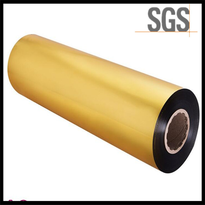 Sliver Golden 30mic BOPP Film Holographic BOPP Lamination Film