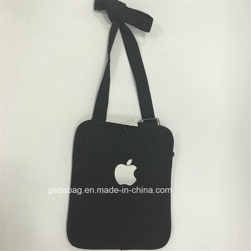 Laptop Notebook iPad Carry Business Classic Bag (GB#40003-black)