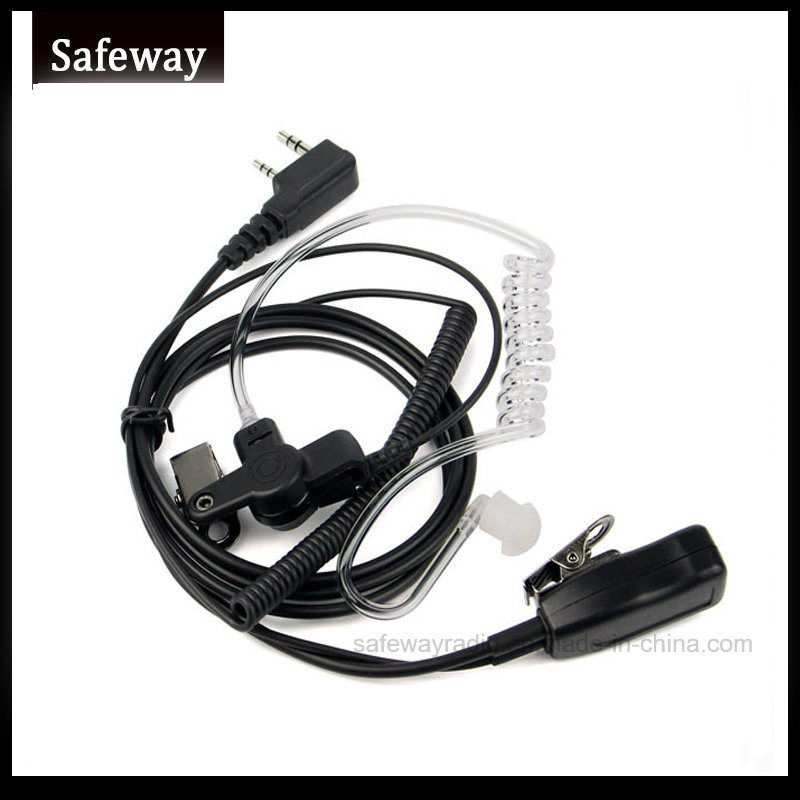 Walkie Talkie Air Tube Headset for Kenwood