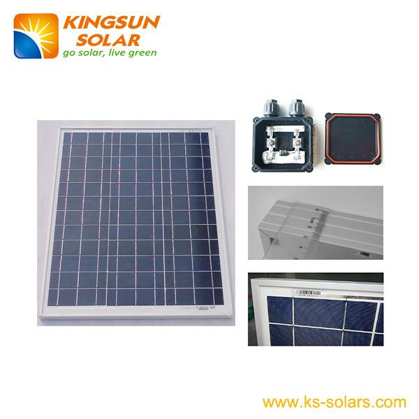 30W Poly-Crystalline Solar Panel