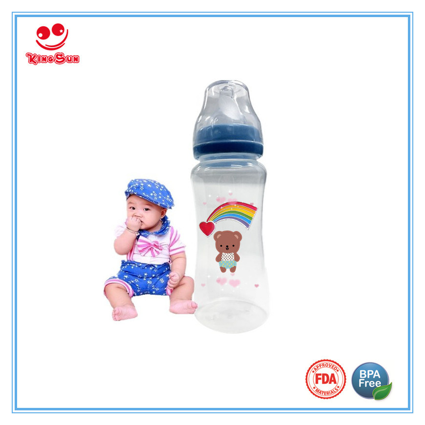Wide Neck Baby Bottle for Feeding Babies