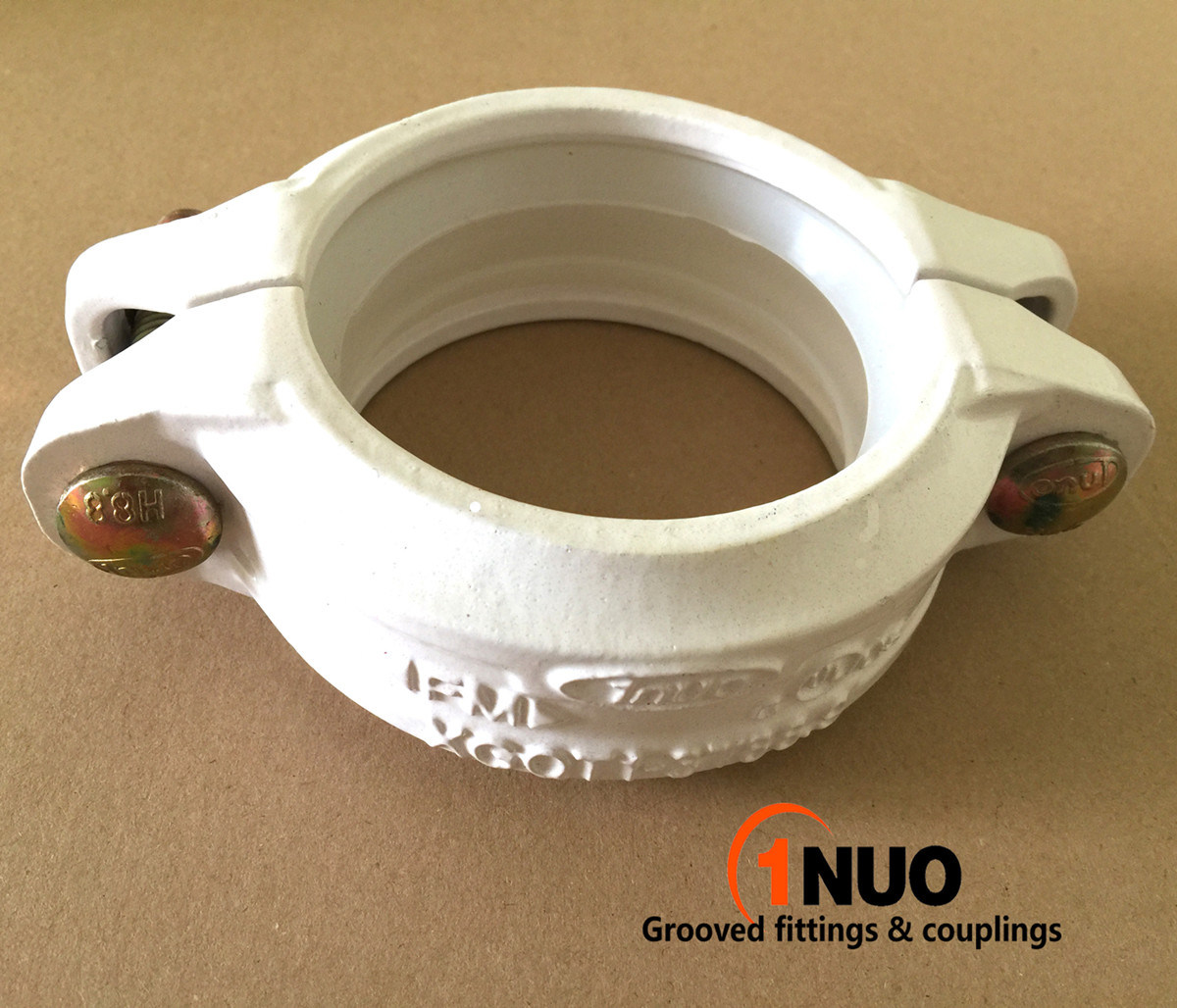 323.9mm/12.752inch Nodular Cast Iron Rigid Coupling FM/UL/Ce Approved