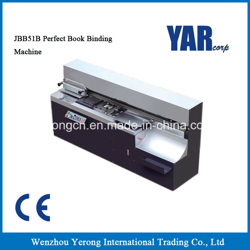 High Quality Jbb51b Perfect Book Binding Machine with Ce