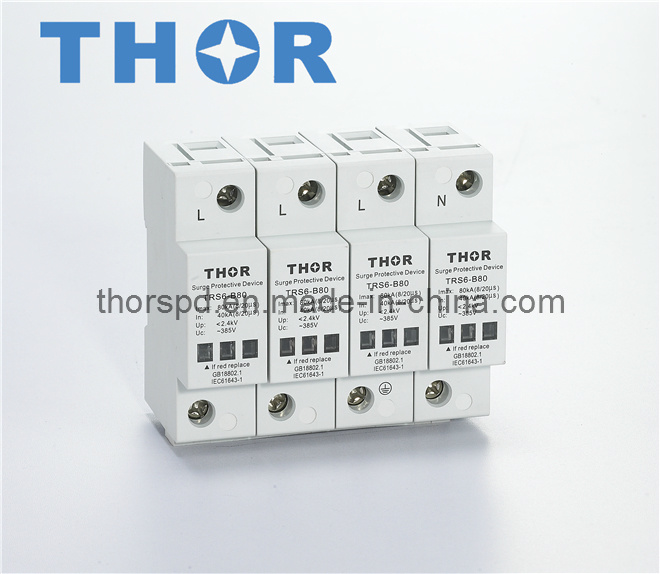 AC Power Surge Protector/Lightning Arrester for CE (SPD)