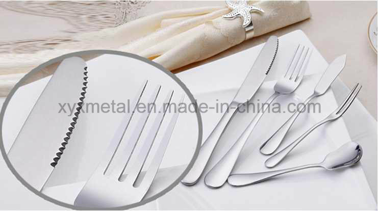 72PCS Tableware Stainless Steel Dinner Cutlery Set