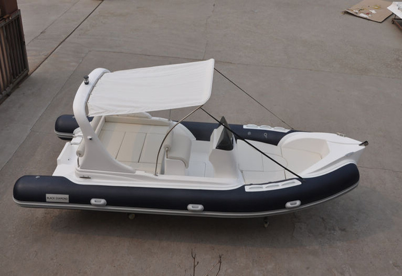 Liya 20FT 10passengers Ocean Hypalon Inflatable Rib Boat for Sale (HYP620A)