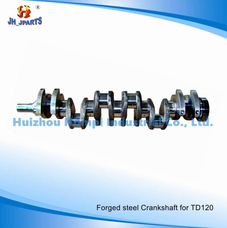 Forged Steel Truck Parts Crankshaft for Volvo Td120/121f Td100/Td102/Td103/Td122