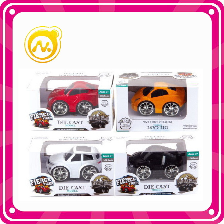 1: 32 Cartoon Pull Back Die Cast Car Alloy Toys