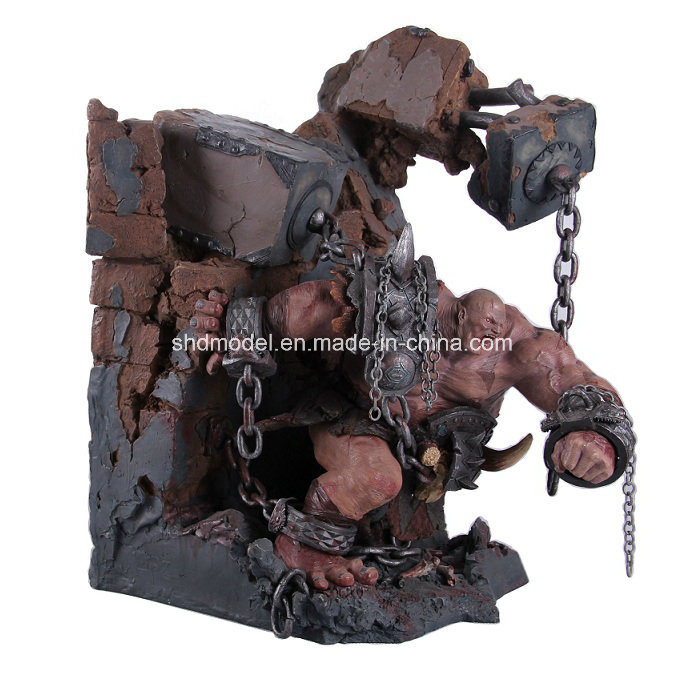 12 Inches Resin Statue (OEM order)
