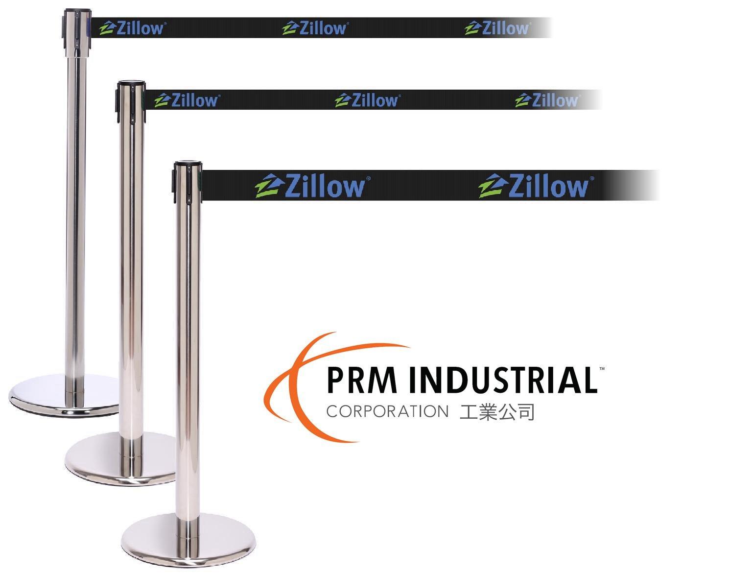 Stylish & Durable Heavy Duty Cast Iron Base Retractable Barrier