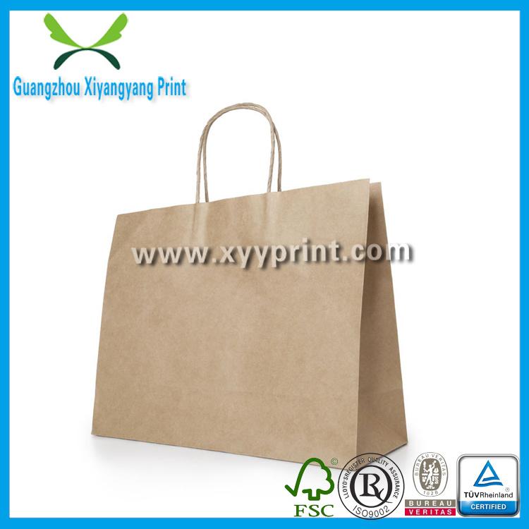 Custom Food Kraft Paper Packaging Bags Wholesale