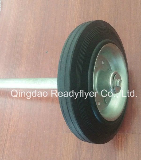 Solid Rubber Wheel for Dustbin Container