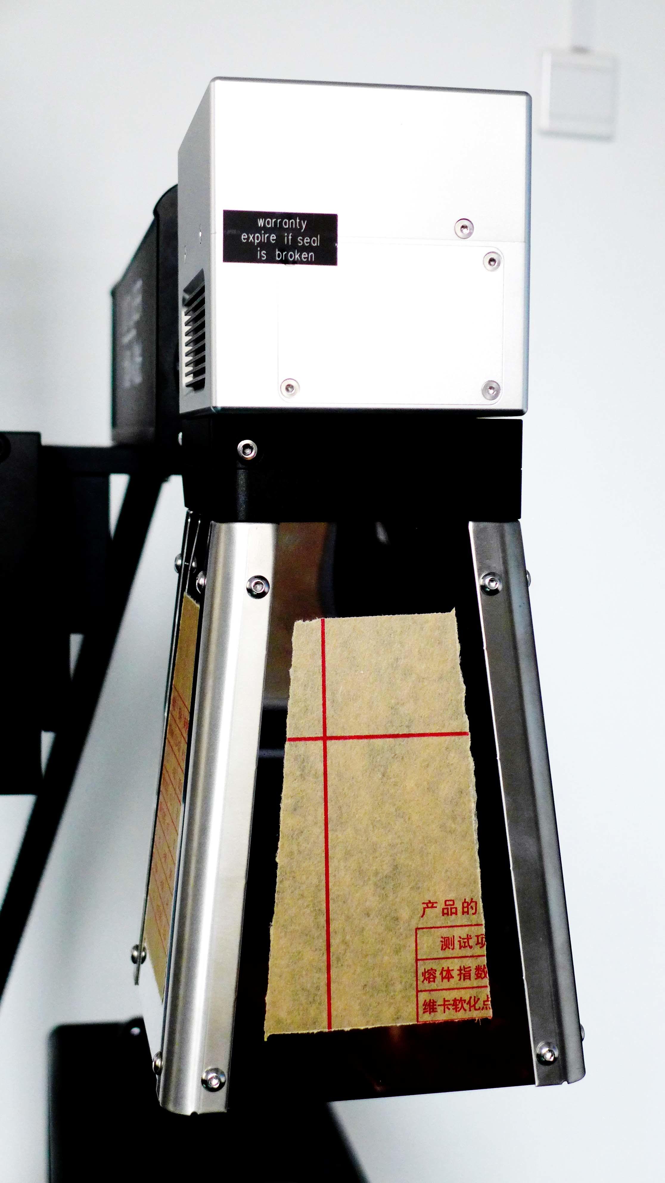 30W Ylpf-30qe Fiber Laser Printer for PP/PVC/PE/HDPE Plastic Pipe, Fittings Non Metal