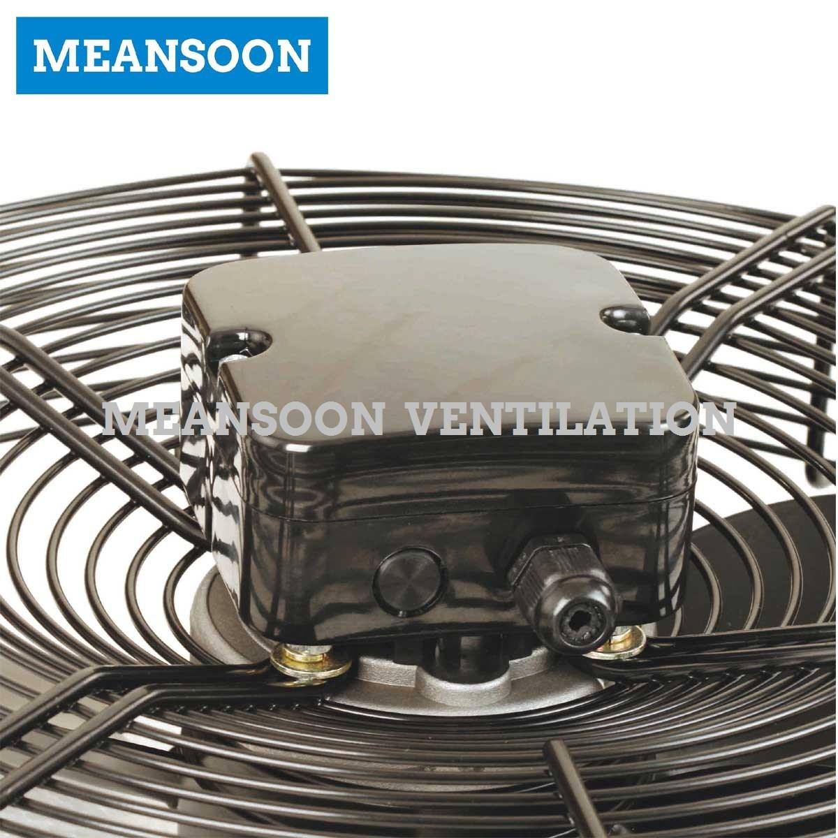 Ywf-350 Cooling Ventilation External Rotor Motor Axial Fan