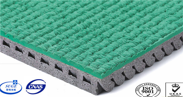 Weather Resistance Prefabricated Rubber Running Track