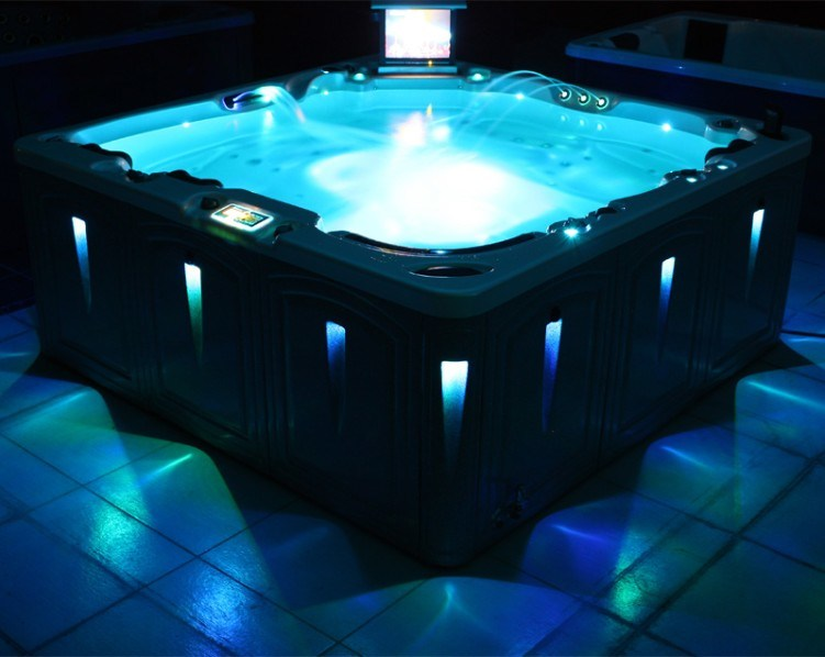 china high quality outdoor spa hot tub tv led photos