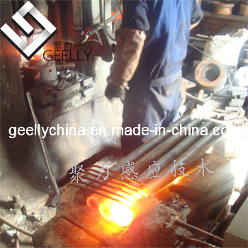 Induction Forging Furnace and Hot Forming Machine for Forming Steel Rod, Iron Rod.