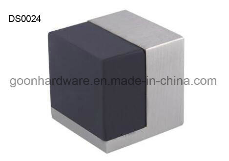 Zinc Door Stopper/Door Wedge with Rubber Ds0082
