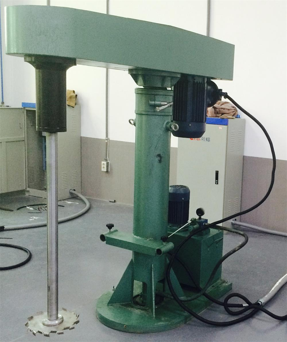 Dual Shafts Disperser Machine