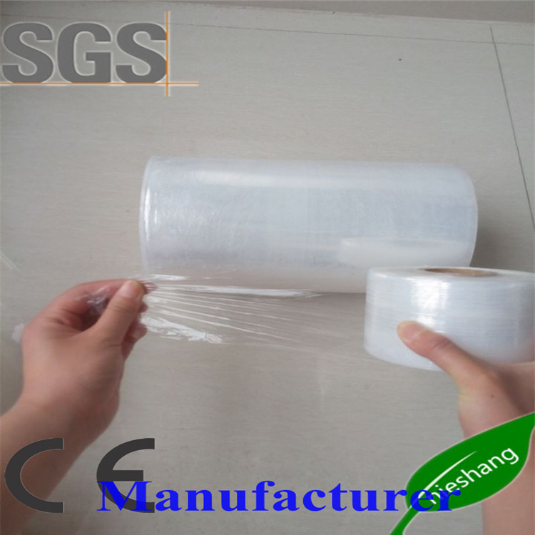 17mic Transparent/Clear Plastic Wrapping Film Hand Use LLDPE Stretch Film