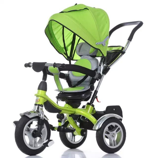 China Baby Push Tricycle Stroller Children Scooter Kids 4 in 1 Tricycle