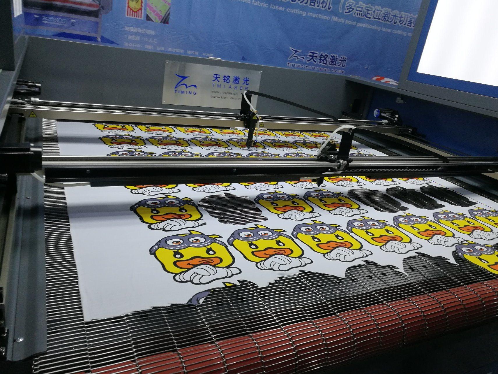 Printed Fabric Automatic Edge Tracking Cutting Machine
