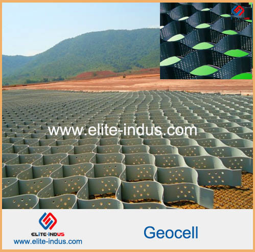 HDPE Slope Protection Geocell HDPE Geocell